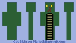 """""""Hissy Hiss"""" Minecraft Skin"""