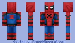 Spiderman Homecoming Suit Minecraft Skin