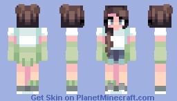 Mint mornings Minecraft Skin
