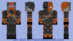 Deathstroke The Terminator (with mask) Minecraft Skin