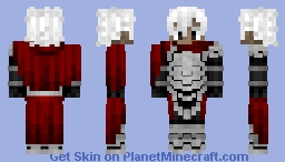 EMIYA (Assassin) エミヤ〔アサシン〕Fate/Grand Order Minecraft Skin