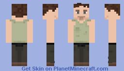 The Walking Dead Daryl Dixon S01E03 Minecraft Skin