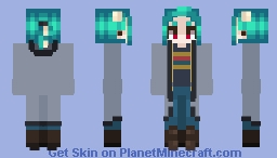 the 13th doctor's outfit rocks Minecraft Skin