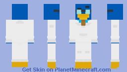 Gary - ClubPenguin Minecraft Skin