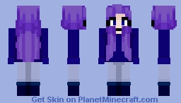 i reshaded my own skin gasp - clover Minecraft Skin