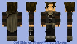 Andre' the Wanderer Minecraft Skin