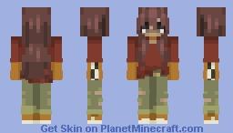 𝑺𝑼𝑵𝑭𝑳𝑶𝑾𝑬𝑹 - 𝑹𝒆𝒙 𝑶𝒓𝒂𝒏𝒈𝒆 𝑪𝒐𝒖𝒏𝒕𝒚 Minecraft Skin