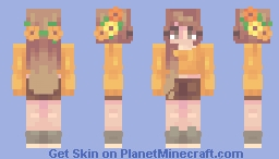 Sunflowers~ Minecraft Skin