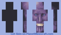 The Happy Titan Minecraft Skin