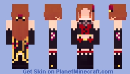 Tokiko Zaizen - THE iDOLM@STER Cinderella Girls: Starlight Stage Minecraft Skin