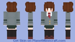 Uraraka (BNHA) Minecraft Skin