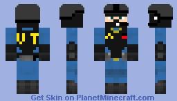 Vault-tec soldier Minecraft Skin