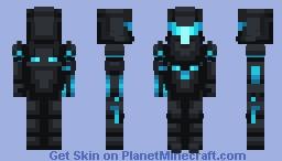 Dark Samus | Metroid Minecraft Skin