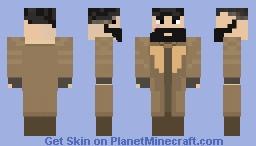Fallout 4 Skin 11 Elder Maxxson Minecraft Skin