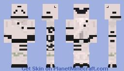 OverTaker (Fortnite) Minecraft Skin