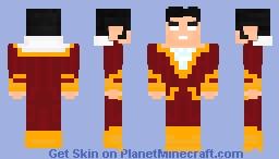 Shazam 🌏DCU Skins Minecraft Skin