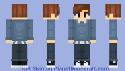 Peter Parker (homecoming sweater) Minecraft Skin