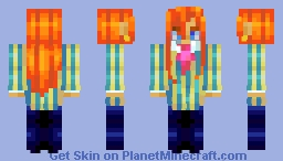 [iiuvenca] studio ghibli contest - fujimoto Minecraft Skin