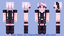 "♡cнaвιlυlυ♡ ""You are what you eat, after all."" [GIFT] for TsukiaKari Minecraft Skin"