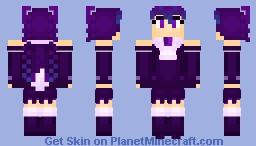 Brilliant Butterfly (Hastune Miku) Minecraft Skin
