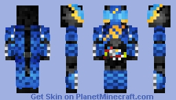 Kamen Rider Build -- TankTank 仮面ライダービルド•タンクタンク Minecraft Skin