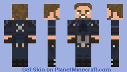 Captain America (2018) Minecraft Skin