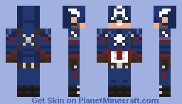 Captain America (2016) Minecraft Skin