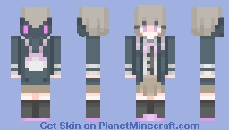 """No matter what kind of future it is... As long as you guys move toward it, I will never disappear. "" Minecraft Skin"
