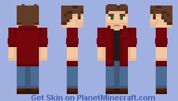 Dean Winchester - [Supernatural] [jacket off] Minecraft Skin