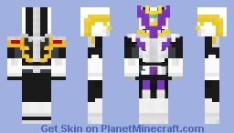 Kamen Rider Den-O Gun Form Minecraft Skin