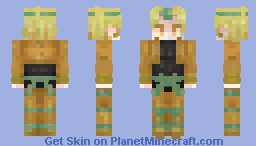 KONO DIO DA (Read description) Minecraft Skin