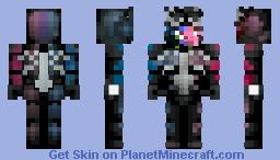 [Venom] Missed the deadline :,) Minecraft Skin