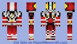 Kamen Rider Faiz Blaster 仮面ライダーファイズブラスタ Minecraft Skin