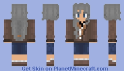 Lt. Anderson from Detroit Become Human (Female) Minecraft Skin