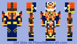 Kamen Rider Gaim Kachidoki Arms Minecraft Skin