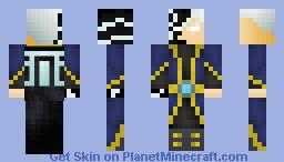 Lightning Mage Minecraft Skin