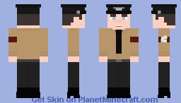 Schutzstaffel M32 Black Uniform (Without Coat) Minecraft Skin