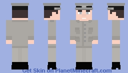 Schutzstaffel M43 Field Grey Uniform Minecraft Skin