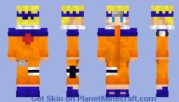 Naruto Uzumaki - [Naruto Shonen Jump] Minecraft Skin