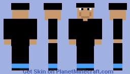 Man with clothes Minecraft Skin