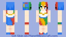 // Google~Chan! // Minecraft Skin