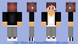 MrIvanPlays Minecraft Skin