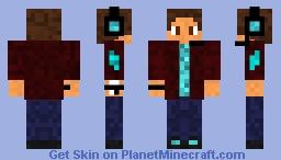 Steve model Stealth_Gamer Minecraft Skin
