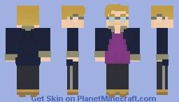 TourNess -REMASTERED- Minecraft Skin