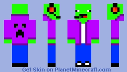 green noob Minecraft Skin