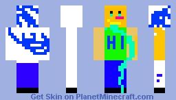 Do not Play minecraft whit this skin XD Minecraft Skin