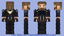 Captain America/Steve Rogers (Infinity War) (MCU) Minecraft Skin