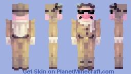 Porco Rosso Minecraft Skin
