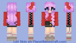 Who am I? someone that's afraid to let go... Minecraft Skin