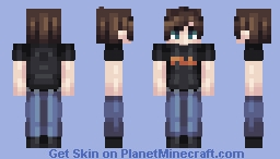 Remade #Basic (Request from XXXTentacionFan) Minecraft Skin
